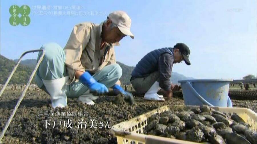 BS-TBS「美しい日本に出会う旅」取材